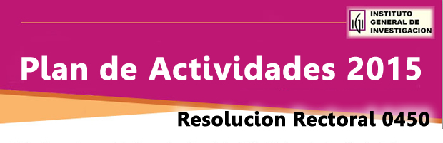 RESOLUCION RECTORAL 0450
